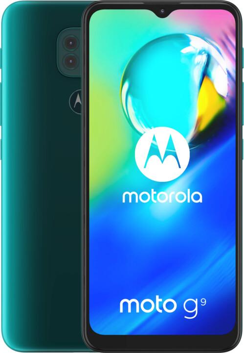Motorola Moto G9 Play, 4GB/64GB, Forest Green + Moto Buds