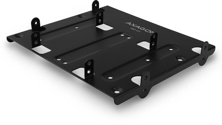 "AXAGON RHD-435, kovový rámeček pro 4x 2.5"" nebo 2x 2.5"" HDD/SSD a 1x 3.5"" HDD do 5.25"" pozice"