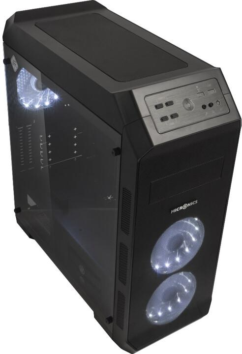 MICRONICS MASTER M400 MESH, matná černá