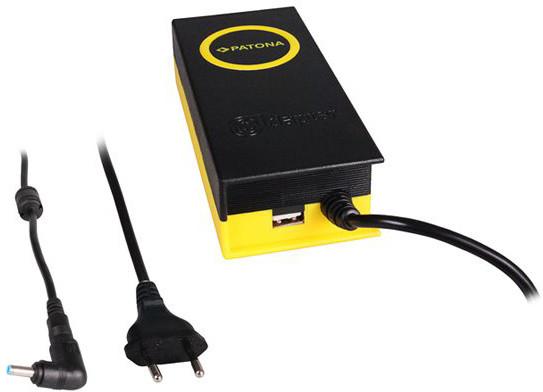 Patona napájecí adaptér k ntb/ 19V/4,7A 90W/ konektor 4,5x3mm/ + výstup USB
