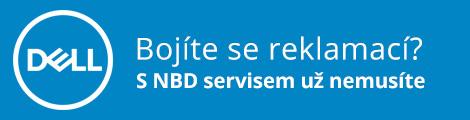 S Dell NBD zárukou se nebojte reklamací.