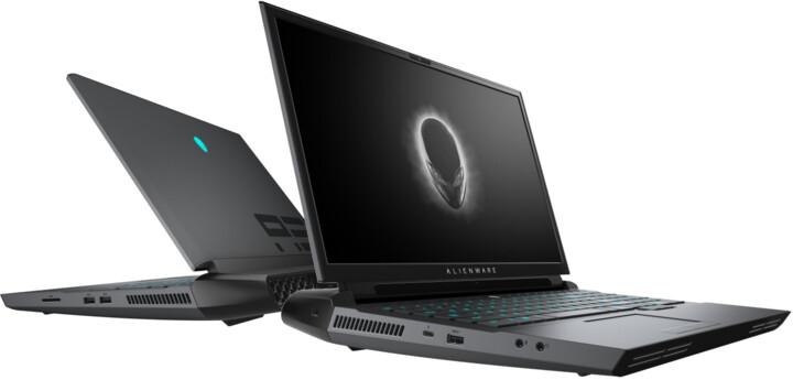 Dell Alienware 17 Area-51m R2, černá