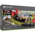 Xbox One X, 1TB, černá + Forza Horizon 4 + LEGO Speed Champions DLC