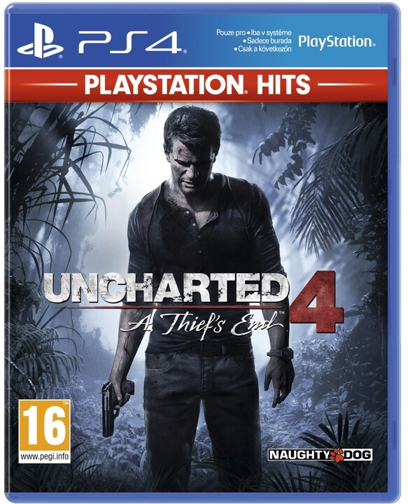 Uncharted 4: A Thief's End HITS (PS4)