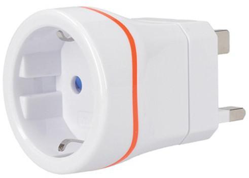 Solight cestovní adaptér pro použití ve Velké Británii