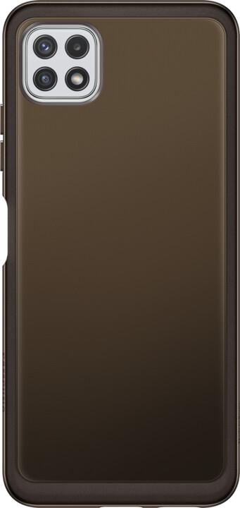 Samsung zadní kryt Clear Cover pro Galaxy A22 (5G), černá