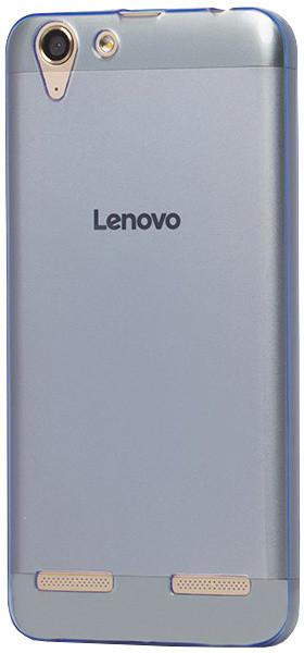 EPICO pružný plastový kryt pro Lenovo K5 Plus RONNY GLOSS - modrý