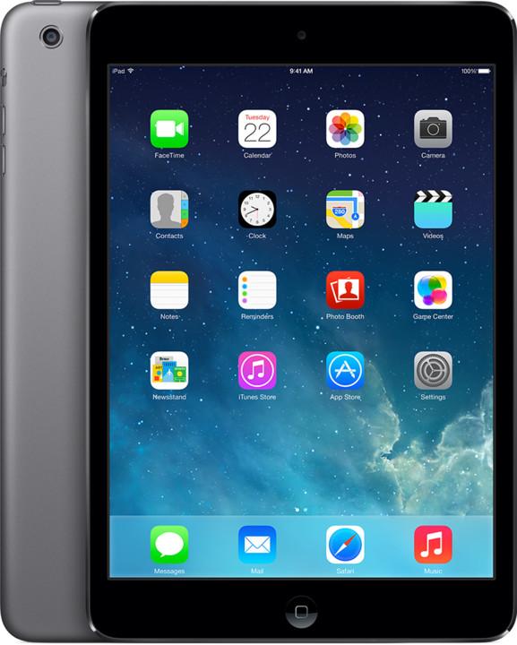 APPLE iPad Mini, Retina, 16GB, Wi-Fi, 3G, šedá