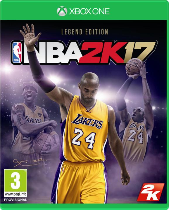 NBA 2K17 Legend Edition (Xbox ONE)