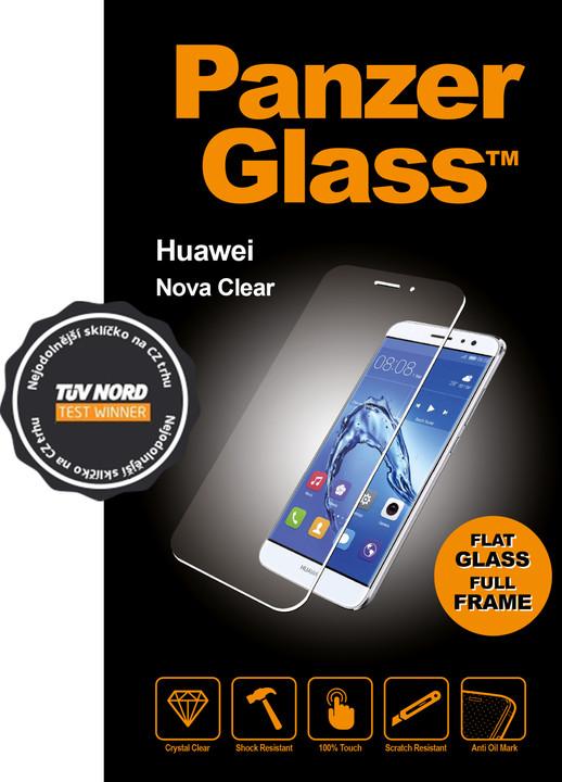 PanzerGlass Edge-to-Edge pro Huawei Nova, čiré