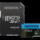 ADATA Micro SDXC Premier 128GB 85MB/s UHS-I A1 + SD adaptér