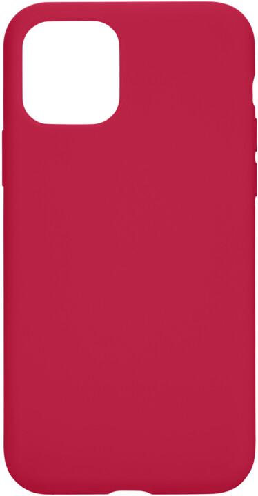Tactical silikonový kryt Velvet Smoothie pro Apple iPhone 11 Pro, červená