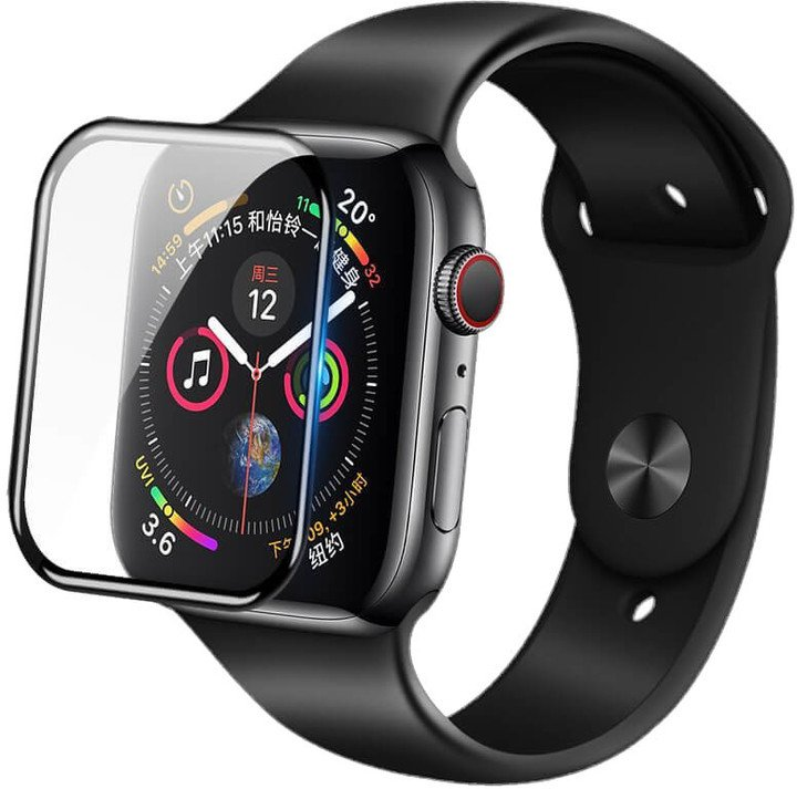 Nillkin tvrzené sklo AW+ pro Apple Watch Series 4/5/6/SE, 3D, čirá