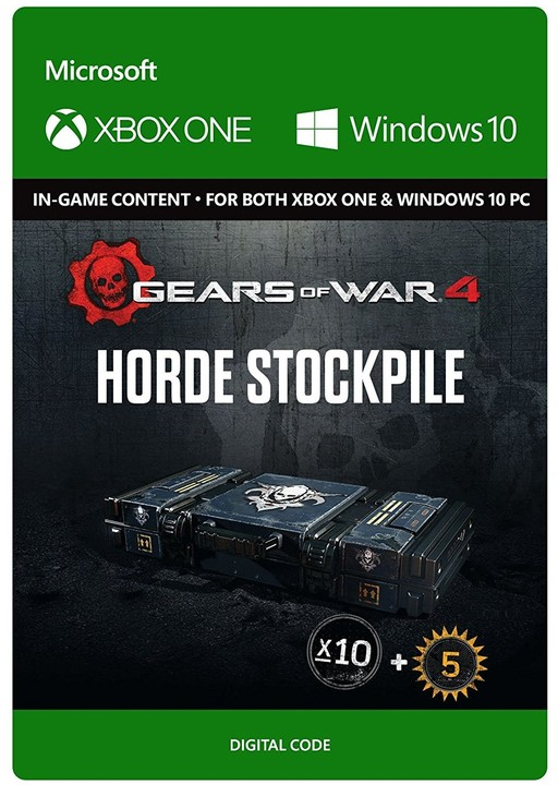 Gears of War 4 - Horde Booster Stockpile (Xbox Play Anywhere) - elektronicky