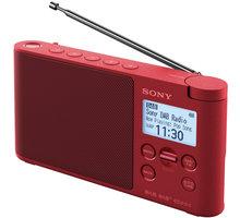 Sony XDR-S41D, červená
