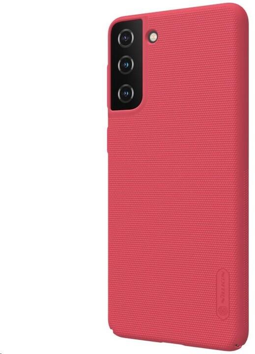 Nillkin Super Frosted zadní kryt pro Samsung Galaxy S21+, červená