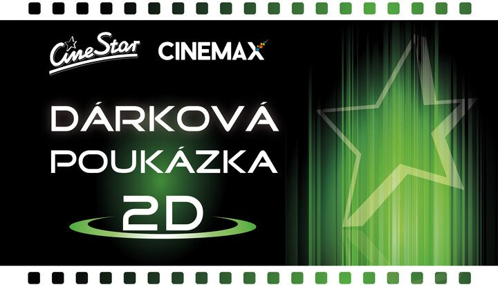 Vstupenka do CineStar v hodnotě 199 Kč zdarma