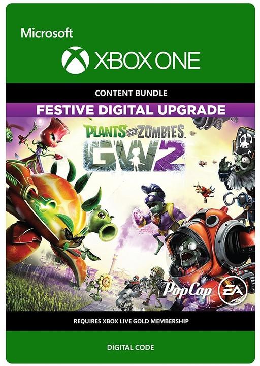 Plants vs Zombies: Garden Warfare 2 - Festive Edition Upgrade (Xbox ONE) - elektronicky