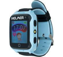 Helmer LK 707 dětské hodinky s GPS lokátorem s možností volání, fotoaparátem, modré - LOKHEL1034
