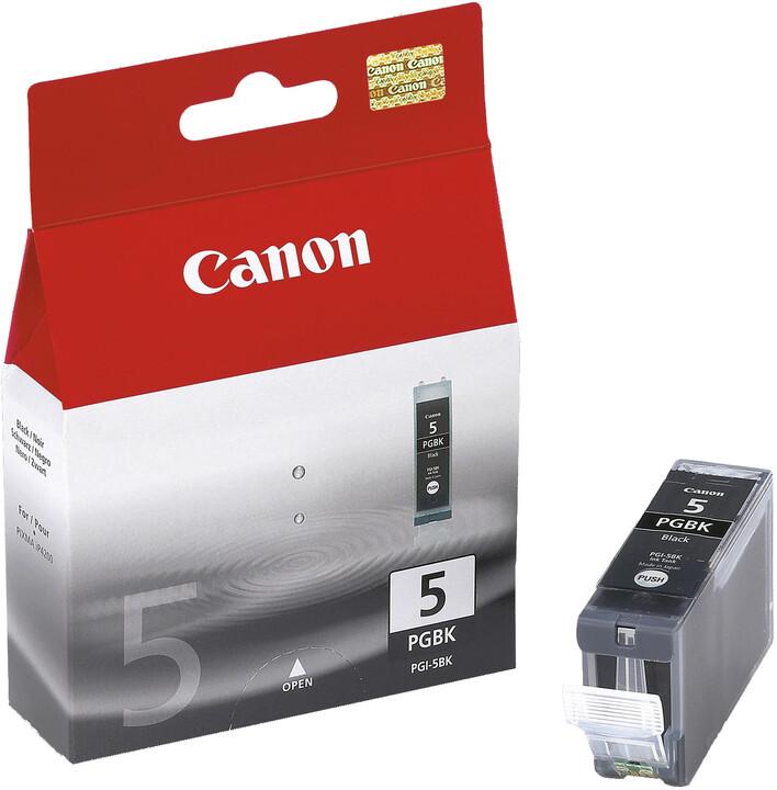 Canon PGI-5Bk, černá
