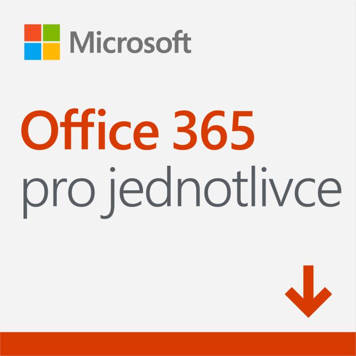 Microsoft Office 365 pro jednotlivce 1 rok - pouze se zařízením