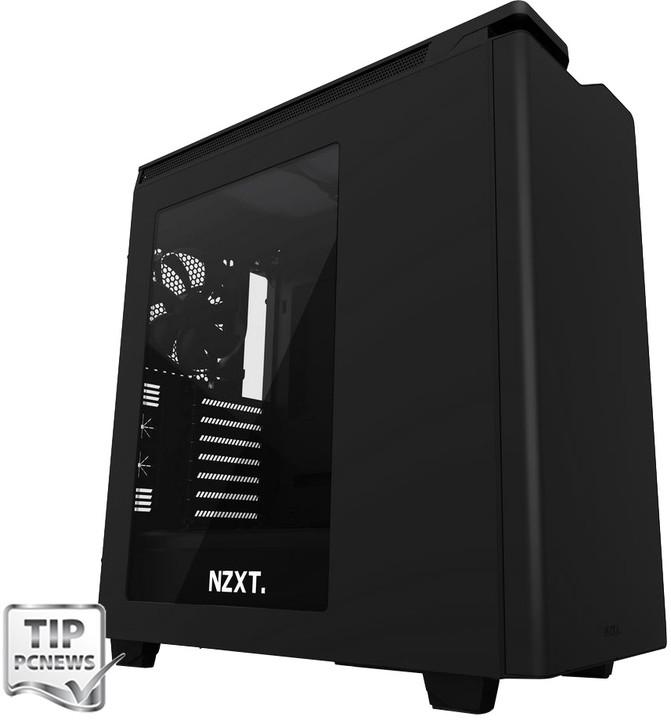 NZXT H440, okno, černá