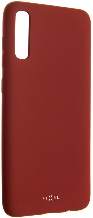 FIXED zadní pogumovaný kryt Story pro Samsung Galaxy A70, červená