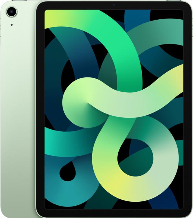 "Apple iPad Air 2020 (4. gen.), 10,9"", 256GB, Wi-Fi + Cellular, Green"