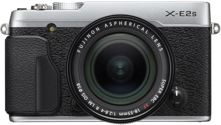 Fujifilm X-E2s + XF18-55mm, stříbrná