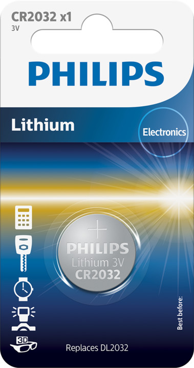 Philips CR2032 - 1ks