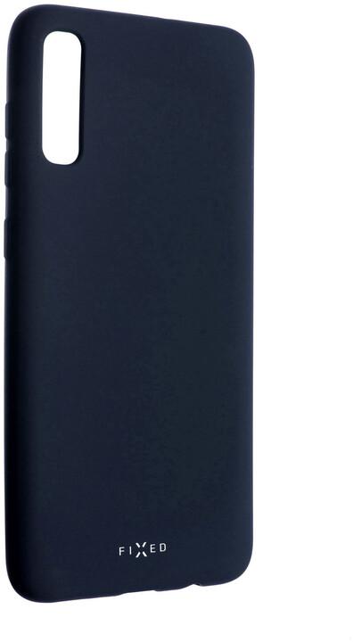 FIXED zadní pogumovaný kryt Story pro Samsung Galaxy A70, modrá