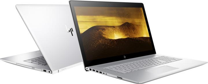 HP Envy 17 (17-ae103nc), stříbrná