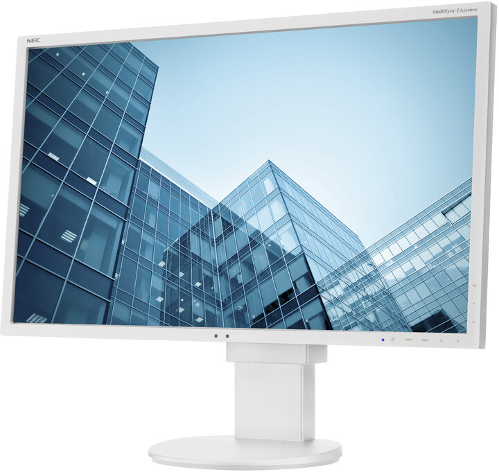 "NEC MultiSync EA224WMi, bílá - LED monitor 22"""