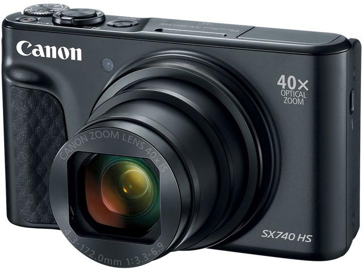 Canon PowerShot SX740 HS, černá