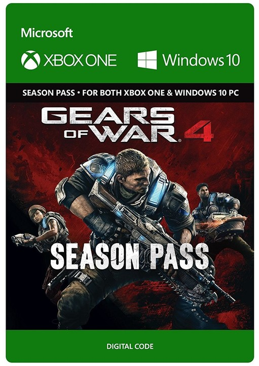 Gears of War 4 - Season Pass (Xbox Play Anywhere) - elektronicky