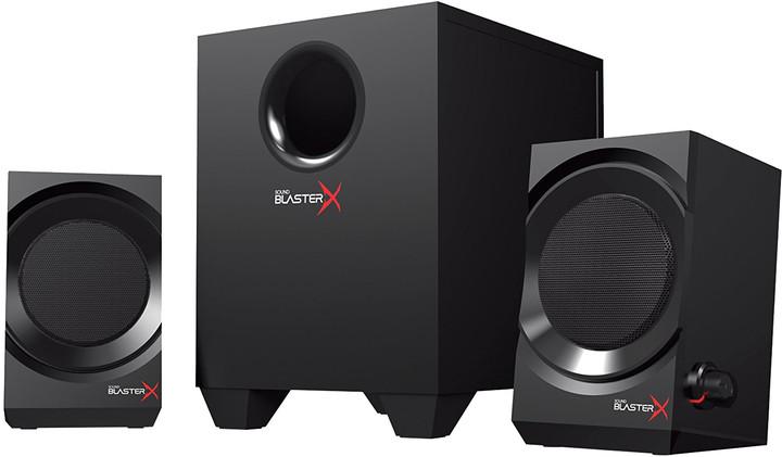 Creative Sound Blaster KRATOS S3, černá
