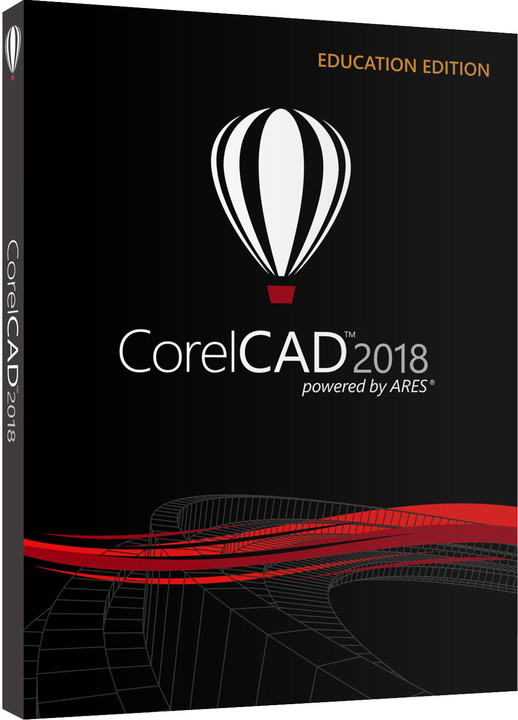 Corel CorelCAD 2018 Education Level 3 (pří nákupu 51-250 licencí)