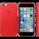 Apple iPhone 6 / 6s Leather Case, červená  + Při nákupu nad 500 Kč Kuki TV na 2 měsíce zdarma vč. seriálů v hodnotě 930 Kč