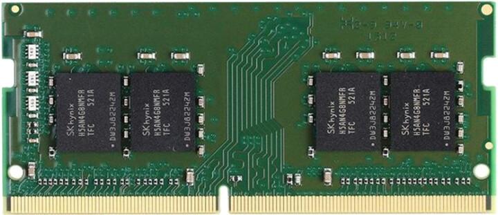 Kingston Server Premier 8GB DDR4 2666 CL19 ECC SO-DIMM, 1Rx8, Micron