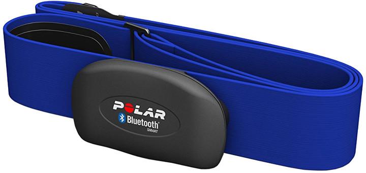 Polar H7 černý - monitor srdečního tepu, modrý