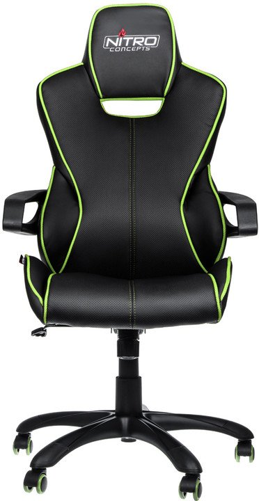 Nitro Concepts E200 Race, černá/zelená