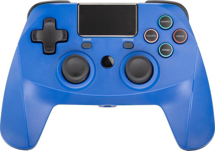 Snakebyte Game:Pad 4 S, bezdrátový, modrý (PS4)