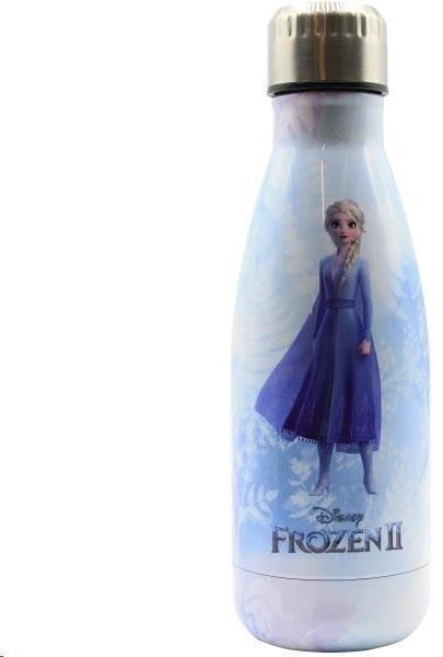 Puro Disney láhev z nerezové oceli FROZEN ELSA, single wall, 500ml Ice