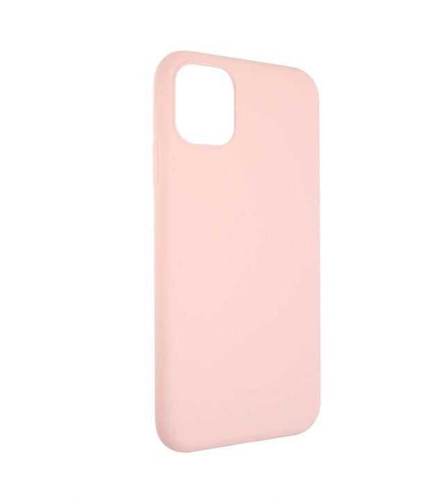 FIXED Story zadní pogumovaný kryt pro Apple iPhone 11, růžová