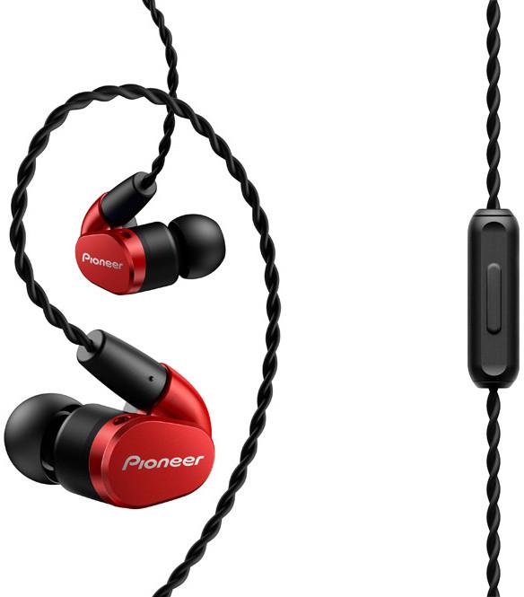 Pioneer SE-E3-B, červená