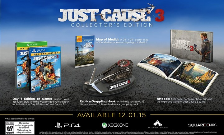 Just Cause 3: Collectors Edition - PS4