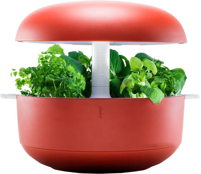Plantui 6 Smart Garden, chytrá zahrádka, červená