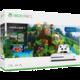 Konzole XBOX ONE S, 1TB, bílá + Minecraft + Explorer's Pack + Minecraft: Story Mode (v ceně 7490 Kč)