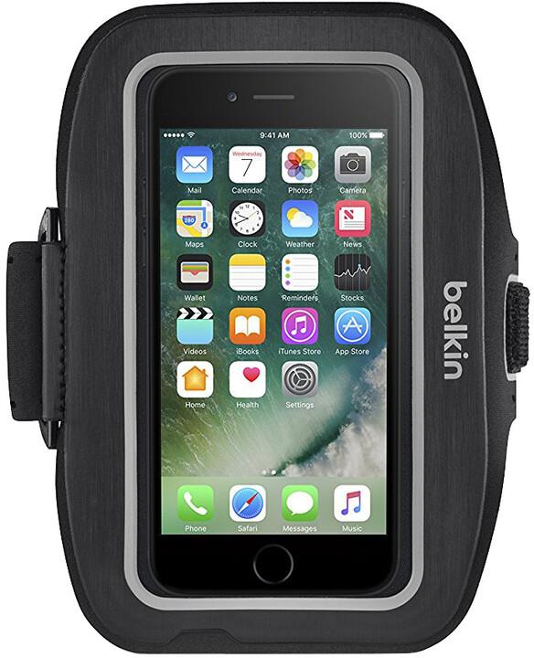 Belkin sportovní pouzdro SportFit plus iPhone 7, černé