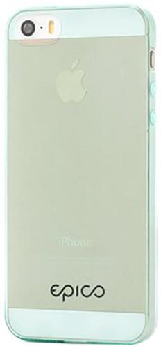EPICO Plastový kryt pro iPhone 5/5S/SE TWIGGY GLOSS - zelený